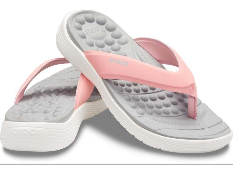 Crocs™ Reviva Flip Women's Melon/White