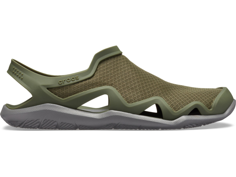Crocs™ Swiftwater Mesh Wave Men's Army Green/Slate Grey