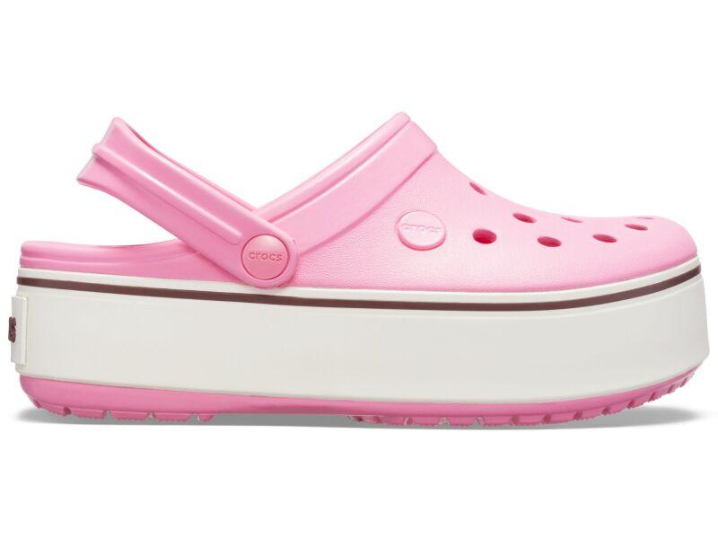 Crocs™ Crocband Platform Clog GS Pink Lemonade/Burgundy