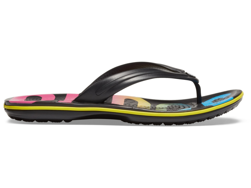 Crocs™ Crocband Printed Flip Black/Multi