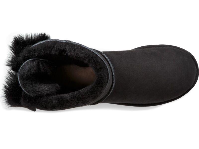 UGG Fluff Bow Mini Black