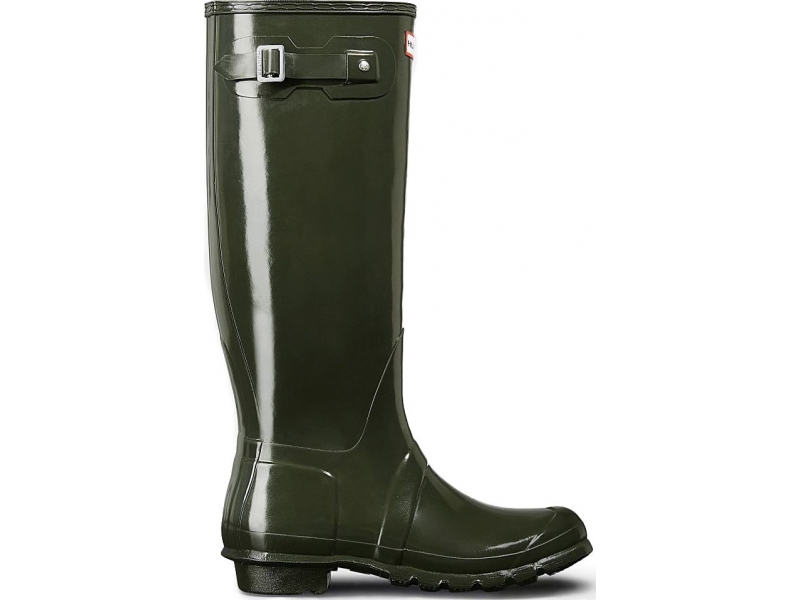 HUNTER Original Tall Gloss Dark Olive
