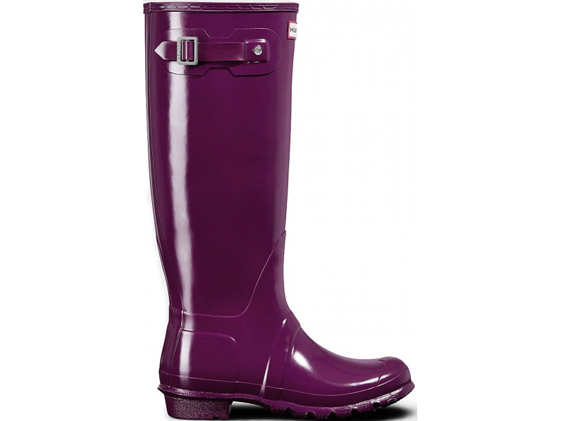 HUNTER Original Tall Gloss Violet