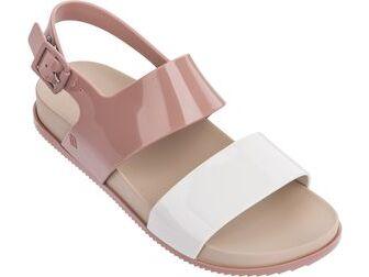 Melissa Cosmic Sandal III White/Brown/Pink