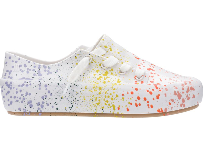 Melissa Ulitsa Sneaker Splash White/Orange