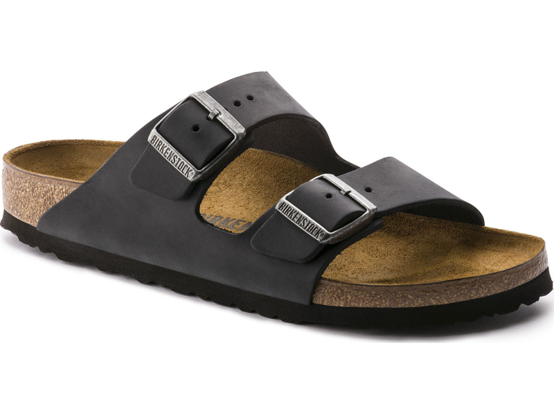 Birkenstock Arizona Oiled Leather Black