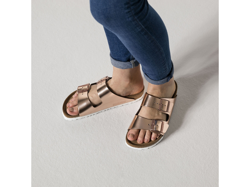 Birkenstock Arizona SFB Metallics Copper