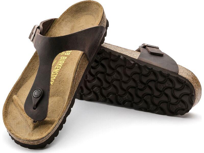 Birkenstock Gizeh Oiled Leather Habana