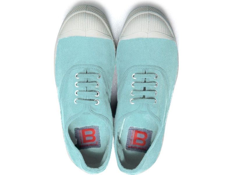BENSIMON Tennis Lacets Mint