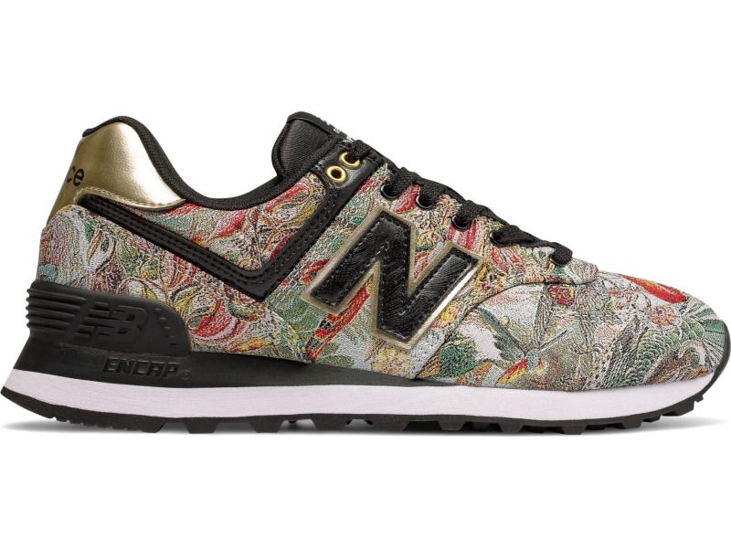 New Balance WL574 Sweet Nectar Black/Gold