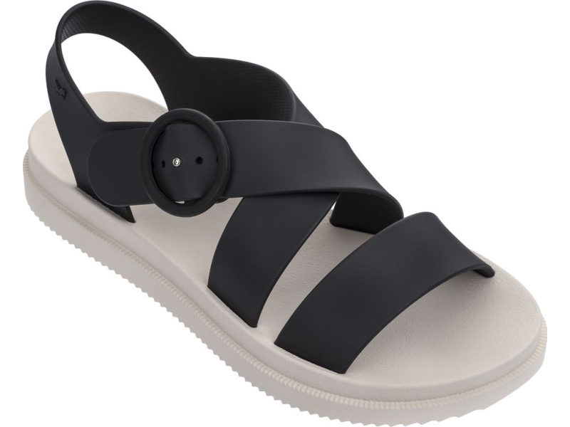 ZAXY Street Sandal Platform 17555 Black/Beige