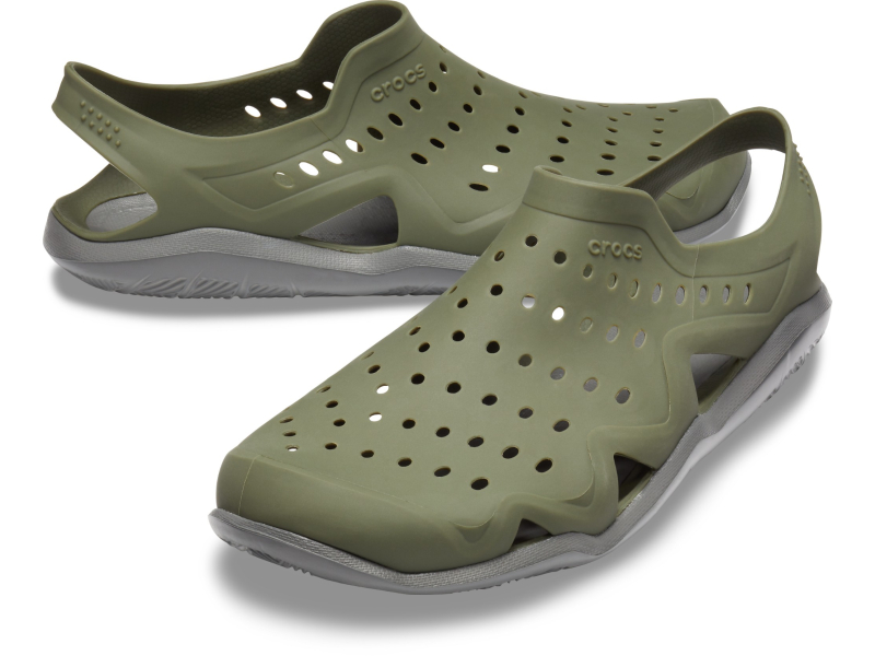 Crocs™ Swiftwater Wave Men's Army Green/Slate Grey
