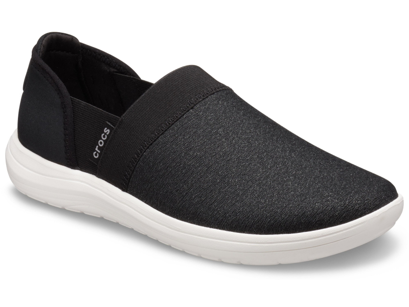 Crocs™ Reviva Slip-On Women's Black/White