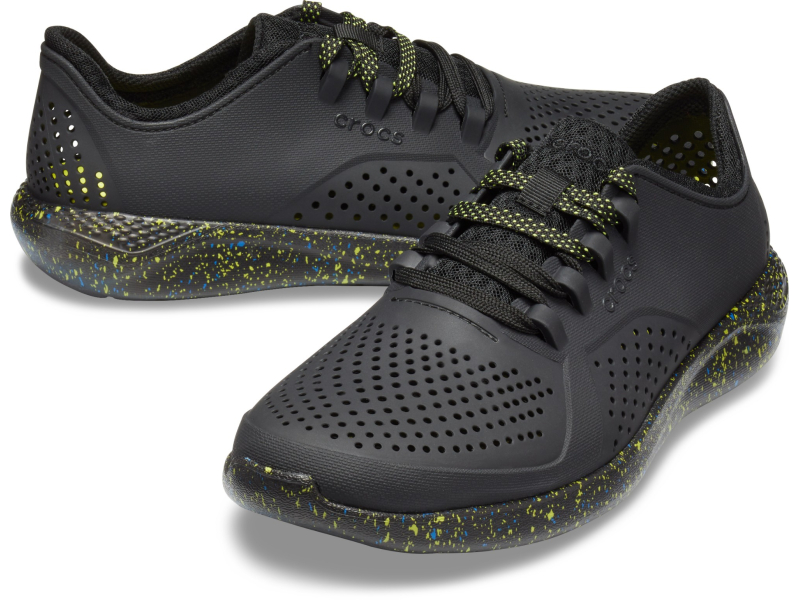 Crocs™ LiteRide Hyper Bold Pacer Men's Black/Black