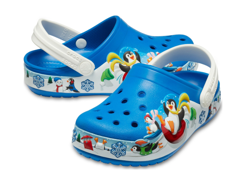 Crocs™ FunLab Playful Penguin Clog Kid's Bright Cobalt