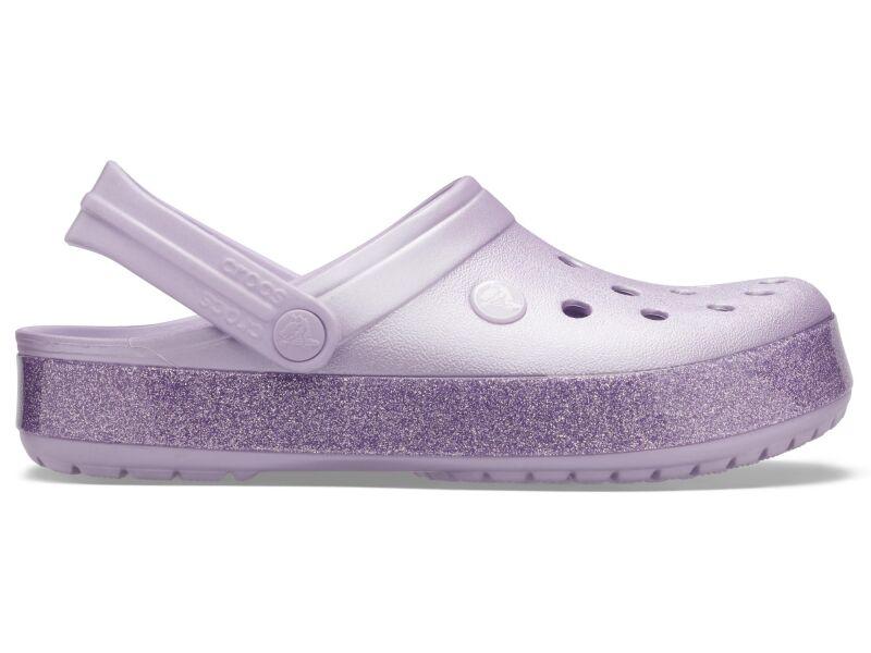 Crocs™ Crocband Printed Clog Metallic Lavender