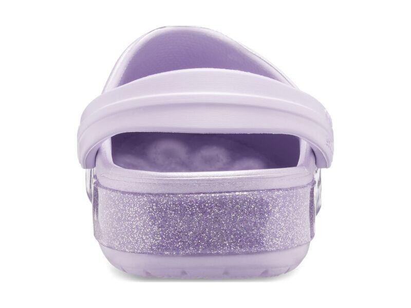 Crocs™ Crocband Glitter Clog Kid's Lavender
