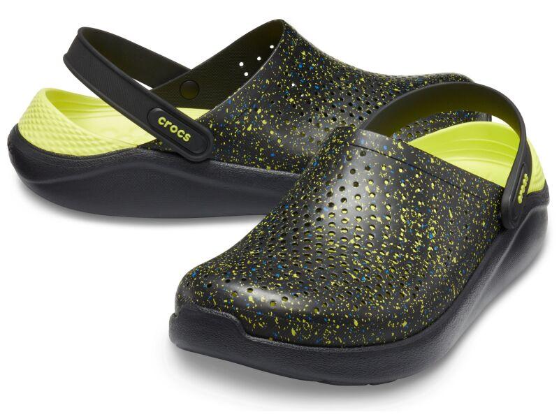 Crocs™ LiteRide Hyper Bold Clog Black/Black