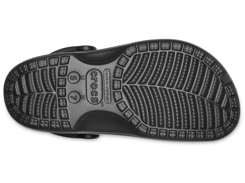 Crocs™ Baya Lined Clog Black/Black