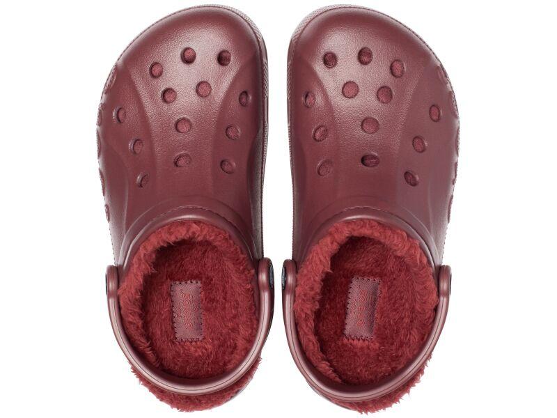 Crocs™ Baya Lined Clog Burgundy/Burgundy