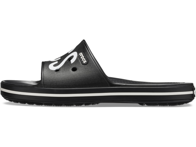 Crocs™ Crocband III Printed Slide Black/White