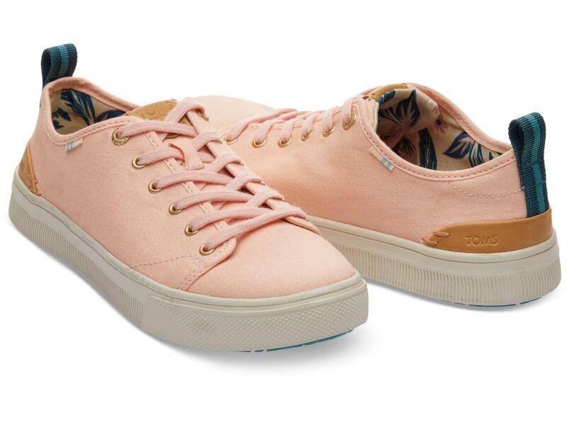 TOMS Canvas Women's Trvl Lite Low Coral Pink