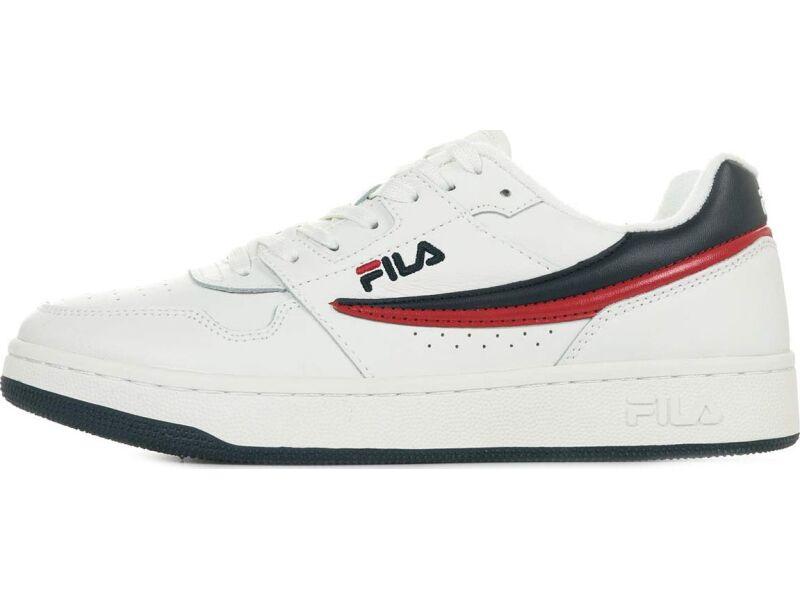 FILA Arcade Low White/Fila navy/Fila red