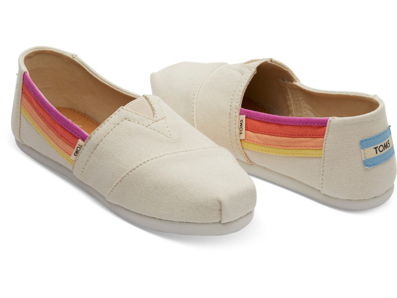 TOMS Horizon Canvas Junior's Alpargata Birch