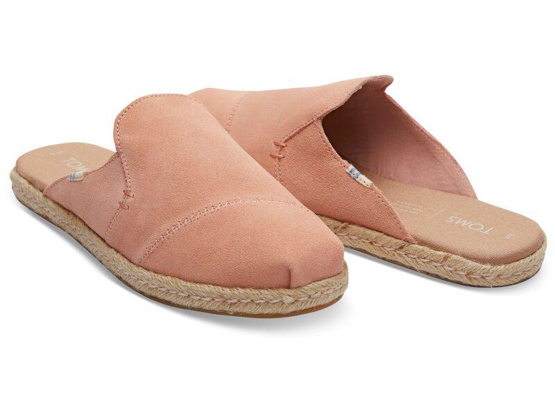 TOMS Suede Women's Nova Coral Pink