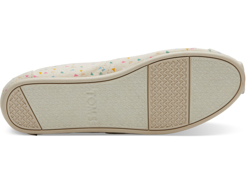 TOMS Funfetti Women's Alpargata Multi Color