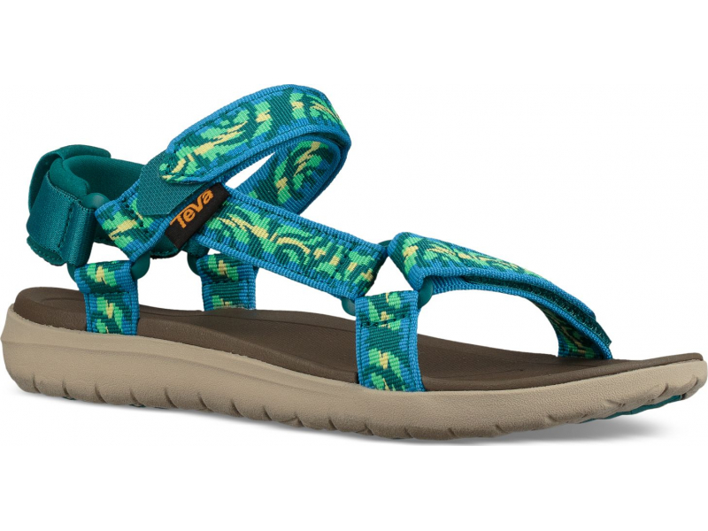 Teva Sanborn Universal Women's Thena Deep Lake Multi