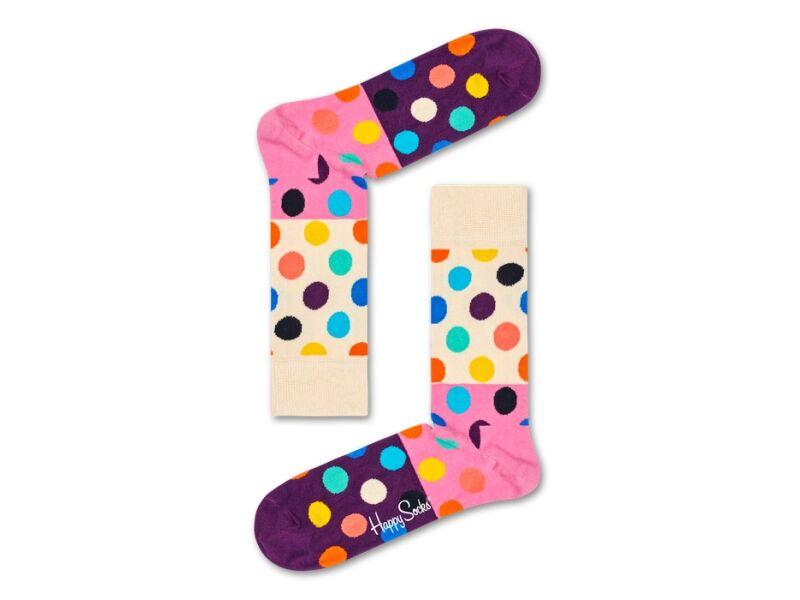 Happy Socks Big Dot Block Multi 0100