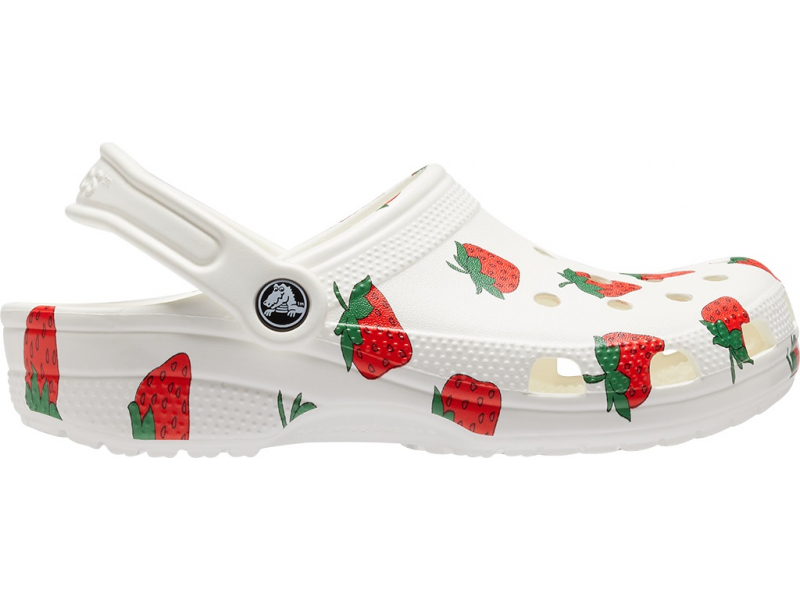 Crocs™ Classic Vacay Vibes Clog White