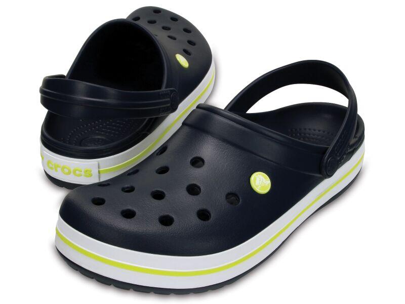 Crocs™ Crocband™ Navy/Citrus