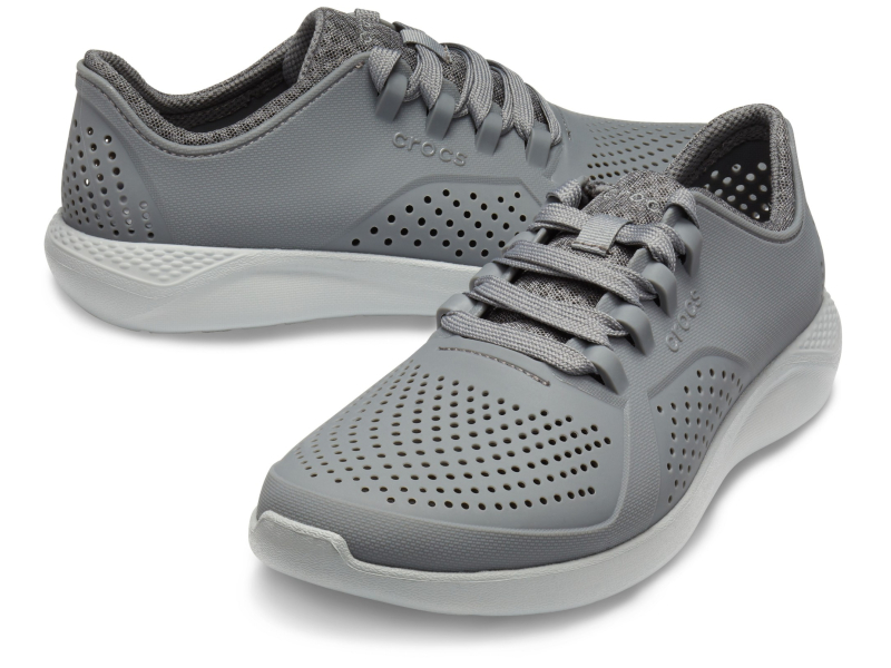 Crocs™ LiteRide Pacer Charcoal/Light Grey