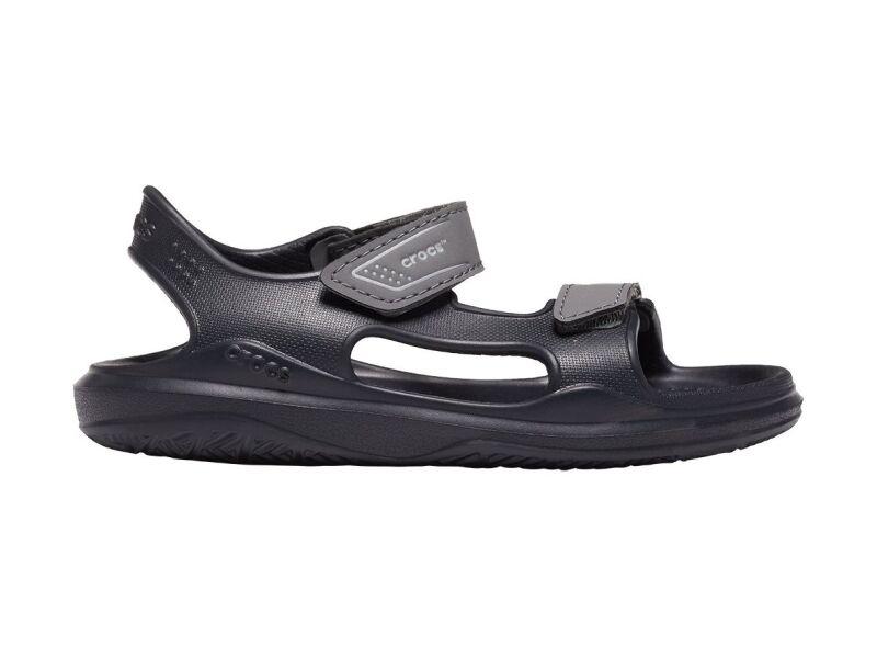 Crocs™ Swiftwater Expedition Sandal Kids Black/Slate Grey