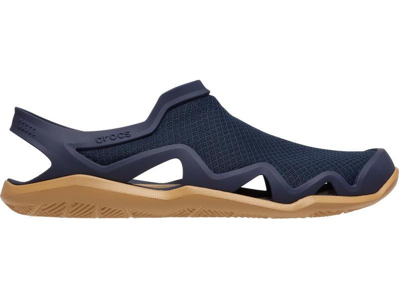 Crocs™ Swiftwater Mesh Wave Men's Navy/Tan