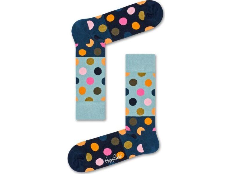 Happy Socks Big Dot Block Multi 6002