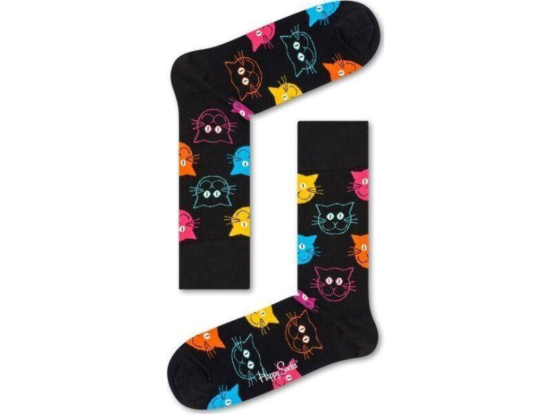 Happy Socks Cat Multi 9001