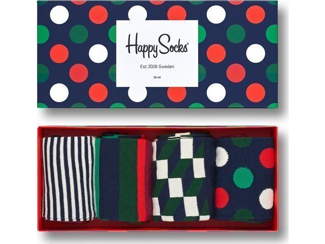 Happy Socks Holiday Big Dot Gift Box Multi 4000