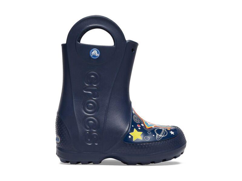 Crocs™ FunLab Galactic Rain Boot Boy's Navy