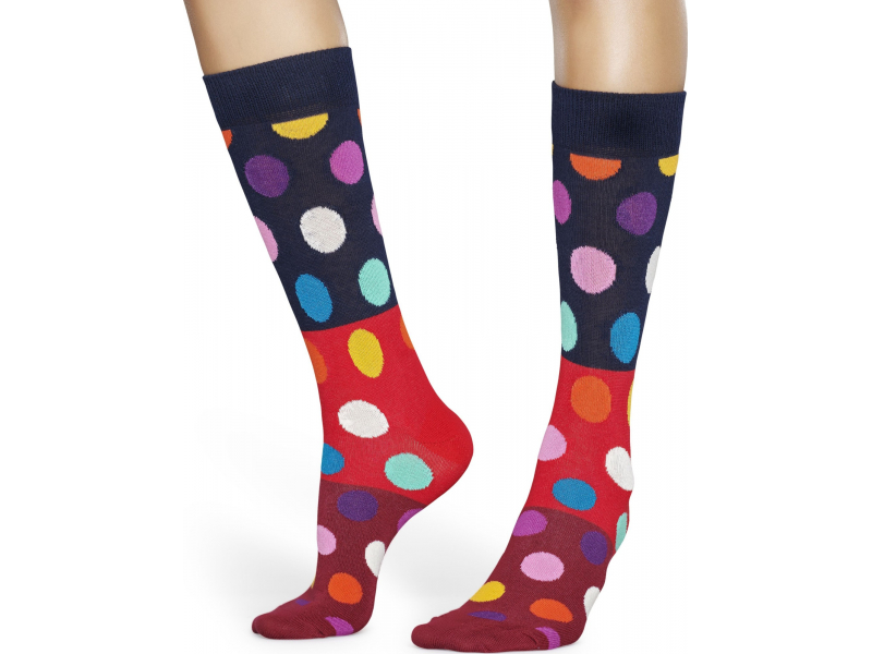 Happy Socks Big Dot Block Multi 4300