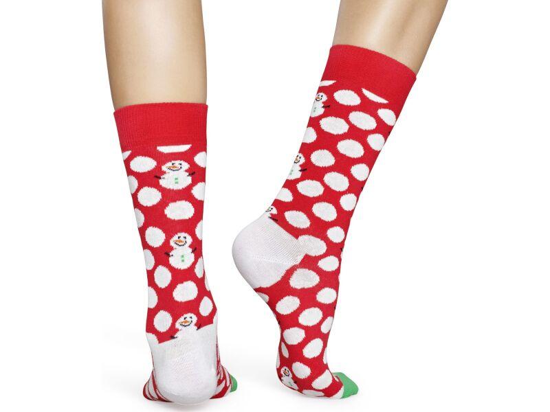 Happy Socks Big Dot Snowman Multi 4300