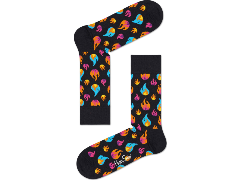Happy Socks Flames Multi 9300