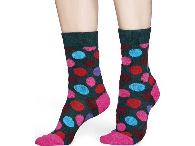 Happy Socks Wool Big Dot Multi 7300