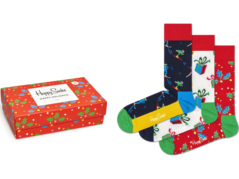 Happy Socks Playing Holiday Gift Box Multi 6500