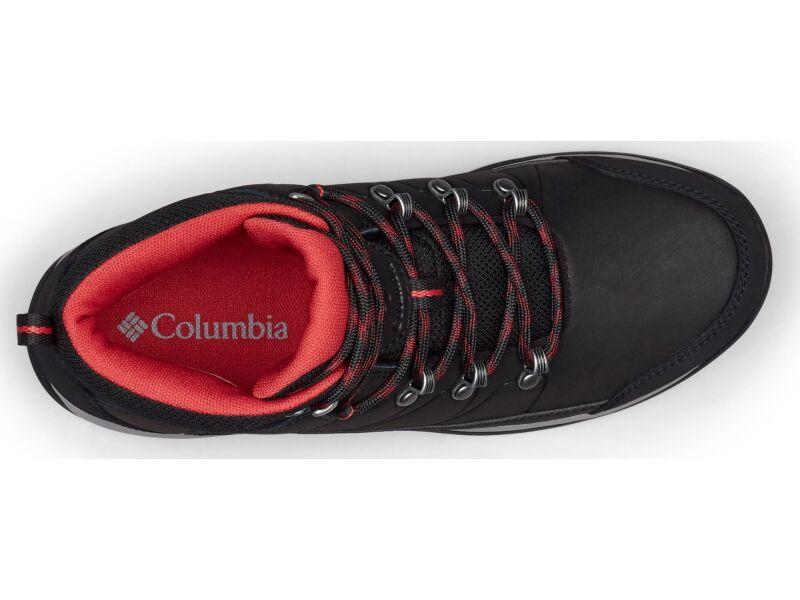 Columbia Fire Venture L Mid II Waterproof Black/Daredevil