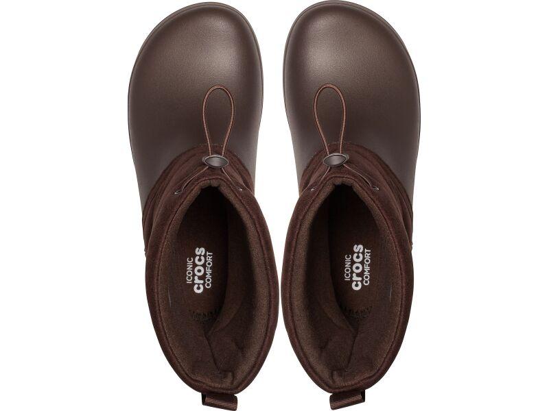 Crocs™ Crocband Puff Boot Women's Espresso