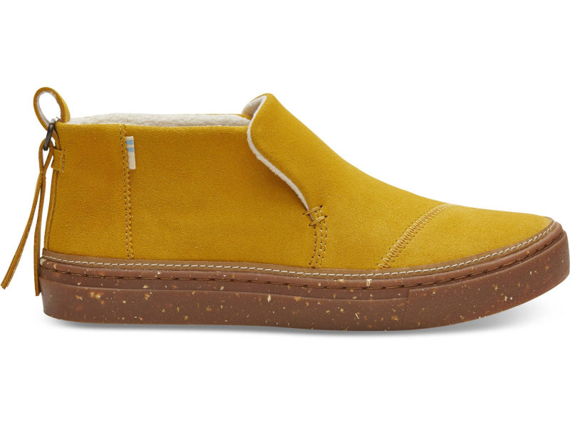 TOMS Water Resistant Suede Women's Paxton Butternut