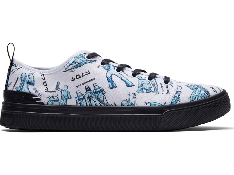 TOMS Star Wars Characters Men's Trvl Lite Low White